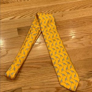 Silk giraffe tie